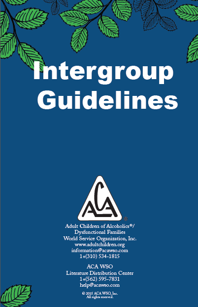 Intergroup Guidelines cover