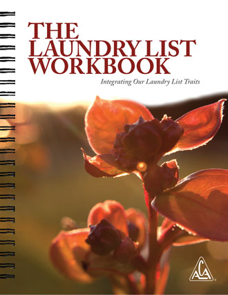 Laundry List Workbook - Integrating Our Laundry List Traits